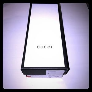 Gucci Accessories - Gucci collectable shoe box with tissue paper