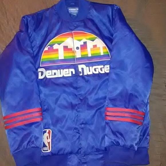 huge selection of 2f7a2 f39f7 Adidas Originals Retro Denver Nuggets Jacket
