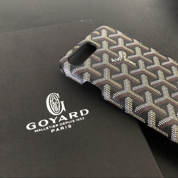 sale retailer 091f7 a2e32 Goyard style iPhone 7 Plus case NWT