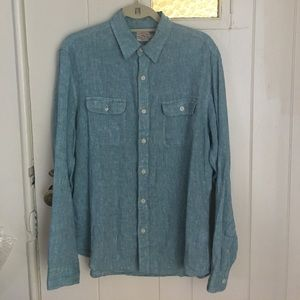Faherty Other - Faherty Button down linen shirt
