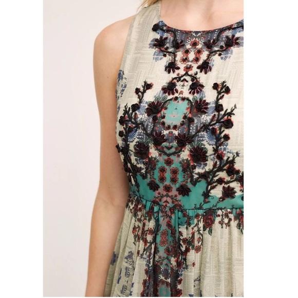 12 off anthropologie dresses skirts new bhanuni for Anthropologie mural maxi dress
