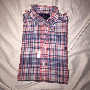 Vineyard Vines Other - Vineyard Vines Men's Button Down Plaid Shirt, XL