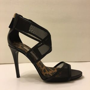 Diane von Furstenberg Shoes - Diane von Furstenberg Jules Mesh Crisscross Sandal