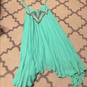 Mint Green Entro Dress