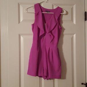 Dresses & Skirts - Express light purple romper