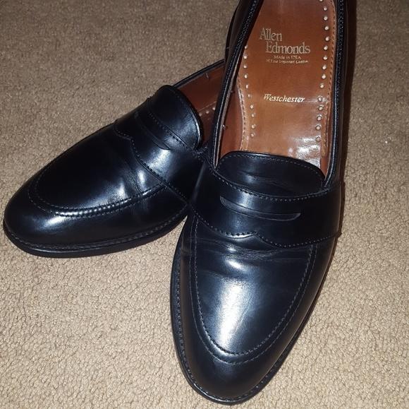 234589a005a Allen Edmonds Other - Allen Edmonds Westchester Black Loafers Size 9 D