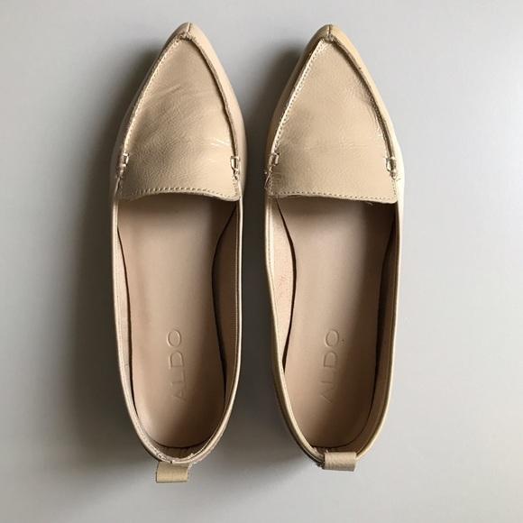 ef7d31697b Aldo Shoes | Bazovica Patent Pointy Toe Loafer Flats | Poshmark