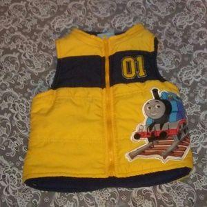 Thomas & Friends Other - Thomas zipper vest