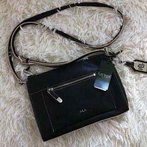 NWT Ralph Lauren Paley Leigh Crossbody bag purse