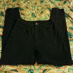 jordache Pants - Jordache High Waist Black Jeans Size 12