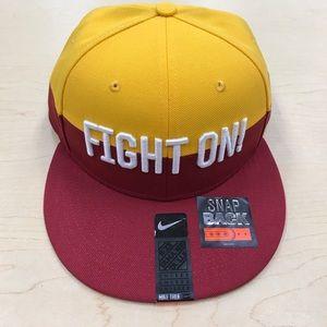 Nike Other - Unisex Nike FIGHT ON USC Trojans Pro V SnapBack