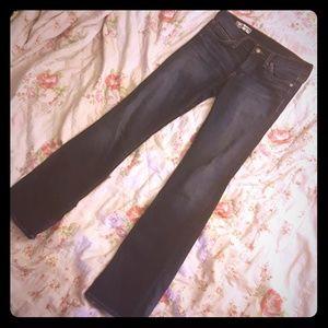 Red Engine Denim - Red Engine dark denim bootcut jeans size 28