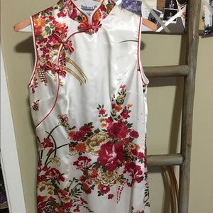 Dresses & Skirts - Silk Chinese wedding gown