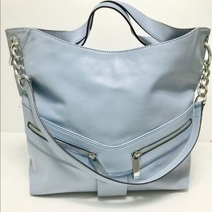 Michael Kors Handbags - NWT Michael Kors Pale Blue Jamesport Tote Bag