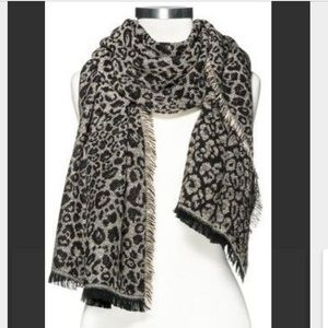 Merona-Oversized leopard print scarf/shawl NWTs