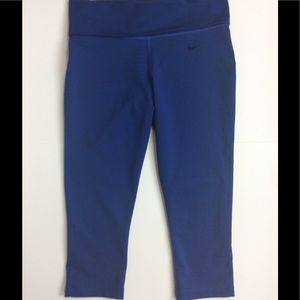 Nike Pants - Nike Legend 2.0 Tight Fit Foldover Capri NWOT