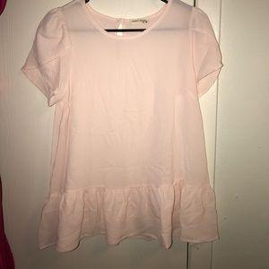 22nd peplum shirt