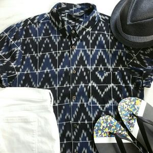 Neuw Other - NEUW DENIM Hunter ikat short sleeve shirt