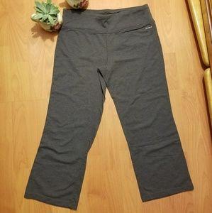 Jockey Pants - Gray yoga capri
