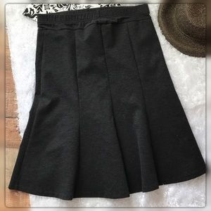 Motherhood Maternity S Flair Gray Skirt