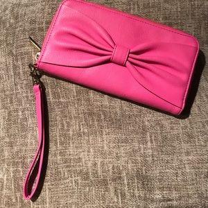 Merona Bow Wristlet/Clutch/Wallet