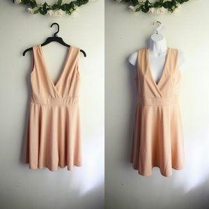 Dresses & Skirts - Blush Skater Dress