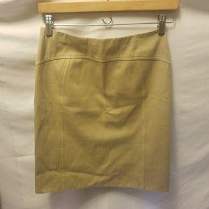 Carolina Herrera Dresses & Skirts - CAROLINA HERRERA Khaki Skirt