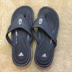 Adidas memory foam flip flops!