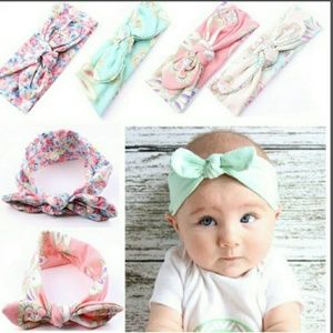 Other - Rabbit ears turban knot headbands