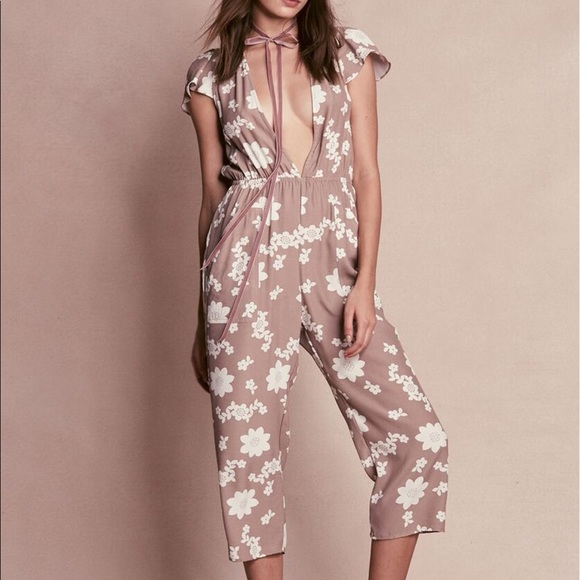 For Love And Lemons Pants Sweet Jane Jumpsuit Poshmark