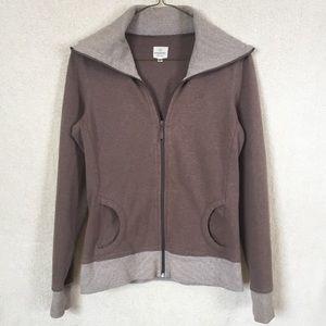 """Banana Republic Brown Zip Up Sweatshirt """"Hoodie"""""""