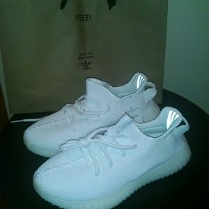 Yeezy Shoes - Yeezy 350 triple white