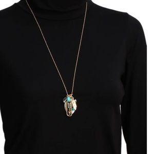 Brighton jewelry long necklace boho southwest multiple pendants brighton jewelry long necklace boho southwest multiple pendants aloadofball Gallery