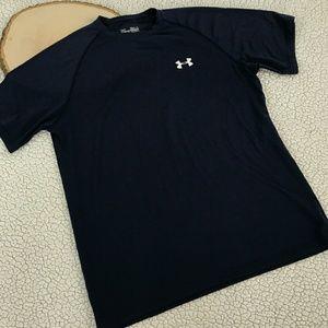 Under Armour Other - UA Under armour Loose heat gear Men's Blue T Shirt