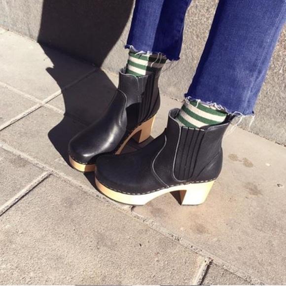 50 off swedish hasbeens shoes swedish hasbeens chelsea. Black Bedroom Furniture Sets. Home Design Ideas