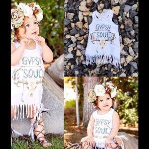 Other - Gypsy Soul baby girl sundress  boho 12 months NEW