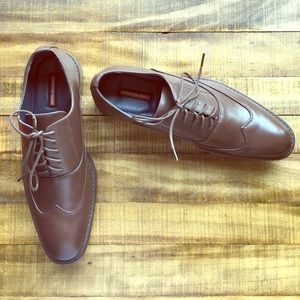 Hawke & Co Other - New in Box! Men's 11 Brown Lace Up Dress Shoes