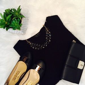 Charter Club Sweaters - Black cashmere sweater