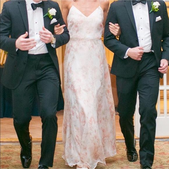Jenny Yoo Dresses   Skirts - Jenny Yoo Inesse Dress in Blush Floral Chiffon ae28ff78f7bf2