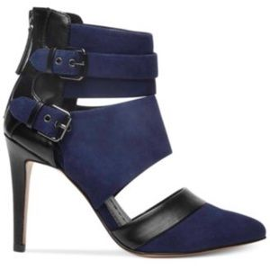Brand New Dolce Vita Leather & Suede Heels