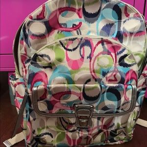 COACH Authentic!!! BEAUTIFUL Multicolored Large