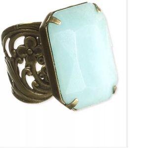 "Sorrelli Jewelry - SORRELLI ""Fixation"" Gold Ring. Adjustable. NWT💎"
