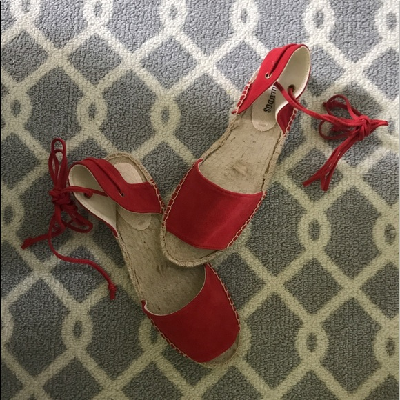 214c3dceb6a1 SUEDE BALEARIC TIE-UP SANDAL