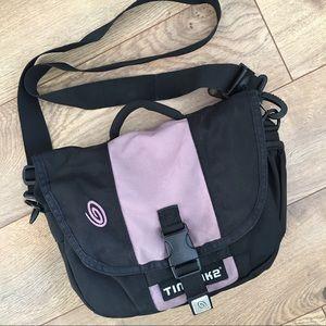 Timbuk2 Handbags - TIMBUK2 Cross Body Messenger Black & Purple Purse