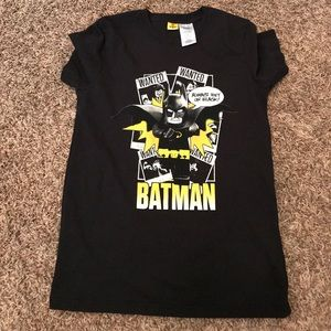 Lego Other - NEW Leto Batman black graphic tee | Youth XL