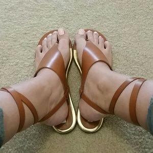 Gorg NWB DVF 'Mitzi' leather sandal- 8