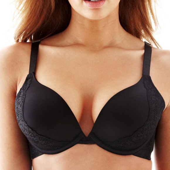 07c1cceb9b35d Ambrielle ultimate upsize push-up bra with lace. M 594001d0f092824dac0061d0