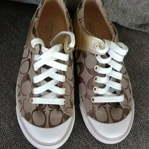 Coach Shoes - Final price 🌻Authentic Coach Sneakers🌻
