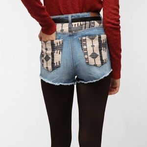 Urban Outfitters Pants - BDG X Reformation High Rise Cheeky Denim Shorts 28
