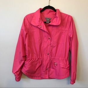 Oleg Cassini Jackets & Blazers - Pink wind breaker.
